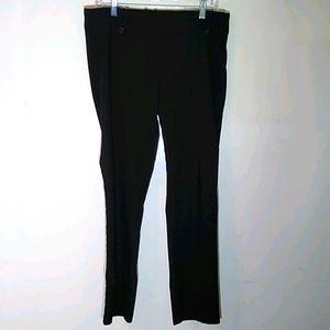 Soho black dress pants. Size L Careerwear